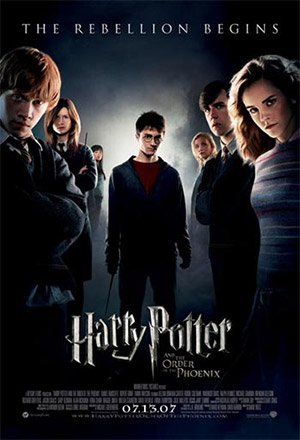 Harry Potter and the Order of the Phoenix แฮร์รี่ พอตเตอร์ กับ ภาคีนกฟีนิกซ์ Harry Potter 5