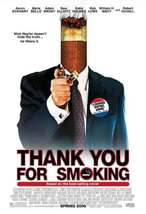 คลิก ดูรายละเอียด Thank You For Smoking