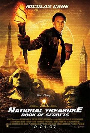National Treasure: Book of Secrets ปฎิบัติการเดือดล่าบันทึกสุดขอบโลก National Treasure 2: The Book of Secret