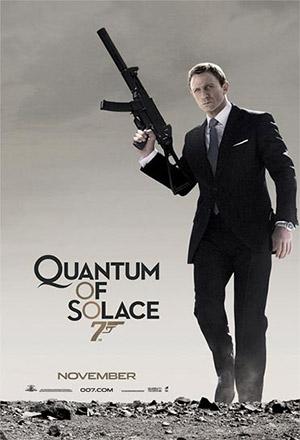 Quantum of Solace พยัคฆ์ร้ายทวงแค้นระห่ำโลก Bond 22