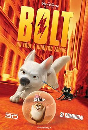 Bolt โบลท์ ซูเปอร์โฮ่ง หัวใจเต็มร้อย American Dog