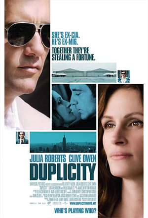 Duplicity สายลับคู่พิฆาต  หักเหลี่ยมจารกรรม