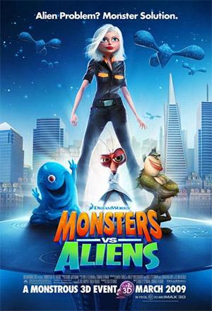 Monsters vs. Aliens มอนสเตอร์ ปะทะ เอเลี่ยน Monsters vs. Aliens: An IMAX 3D Experience