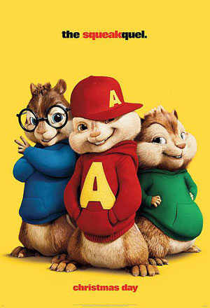 Alvin and the Chipmunks: The Squeakquel อัลวินกับสหายชิพมังค์จอมซน 2 Alvin and the Chipmunks 2