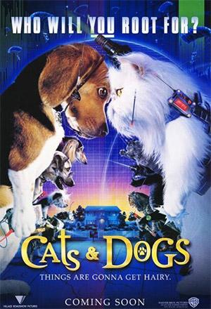 Cats & Dogs สงครามพยัคฆ์ร้ายขนปุย Cats & Dogs 1