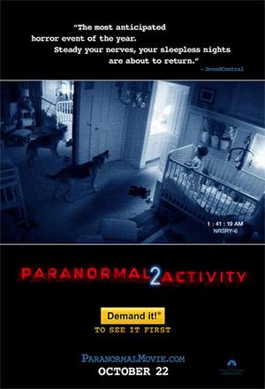 คลิก ดูรายละเอียด Paranormal Activity 2