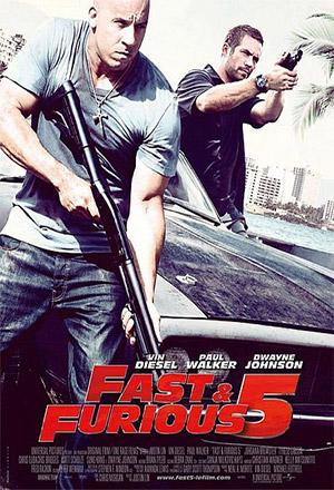 Fast Five เร็ว...แรงทะลุนรก 5 Fast & Furious 5