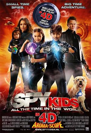 Spy Kids 4: All the Time in the World ซุปเปอร์ทีมระเบิดพลังทะลุจอ Spy Kids 3D