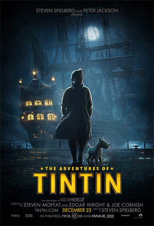 The Adventures of TinTin  การผจญภัยของตินติน The Adventures of TinTin: Secret of the unicorn