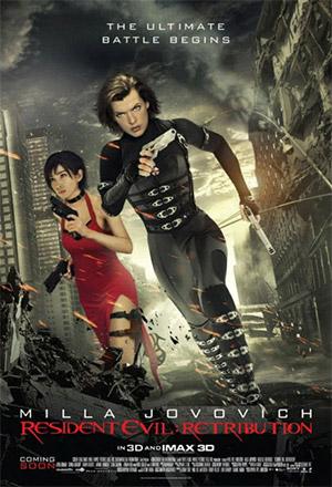 คลิก ดูรายละเอียด Resident Evil: Retribution