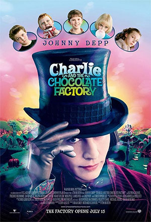 Charlie and The Chocolate Factory Charlie et la chocolaterie, Charlie und die Schokoladenfabrik, Charlie og chokoladefabrikken ชาร์ลีกับโรงงานช็อคโกแล็ต
