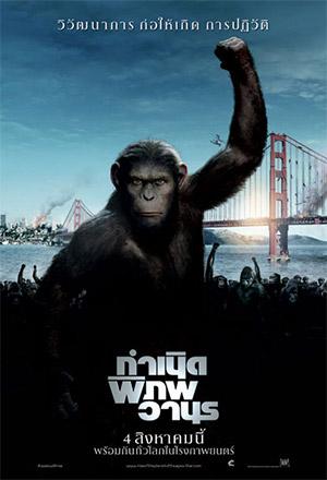 คลิก ดูรายละเอียด Rise of the Planet of the Apes