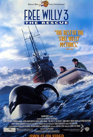 Free Willy 3 ฟรี วิลลี่ เพื่อเพื่อนด้วยหัวใจอันยิ่งใหญ่ 3  The Rescue