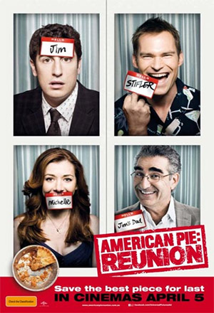 American Reunion คืนสู่เหย้าแก็งค์แอ้มสาว American Pie 4 Presents: Family Reunion <br>American Pie: Reunion