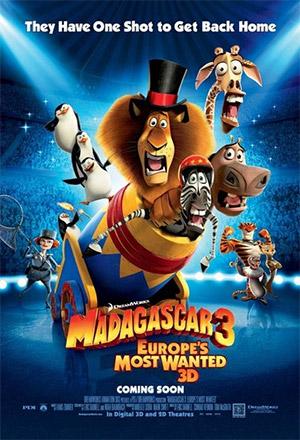 คลิก ดูรายละเอียด Madagascar 3: Europe