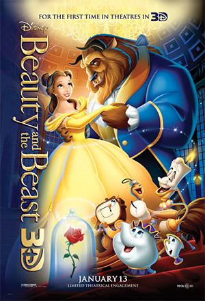 คลิก ดูรายละเอียด Beauty and the Beast (3D)