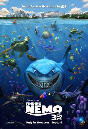 คลิก ดูรายละเอียด Finding Nemo (3D)