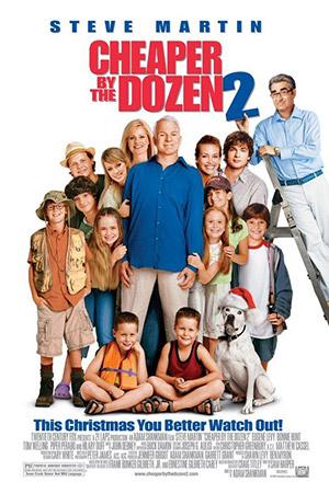 คลิก ดูรายละเอียด Cheaper by the Dozen 2