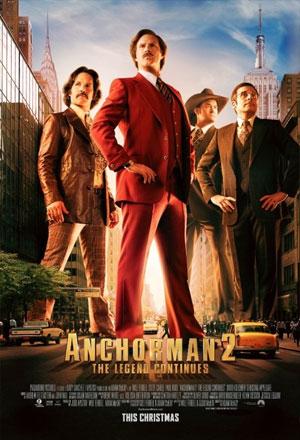 Anchorman 2: The Legend Continues แองเคอร์แมน 2 ขำข้นคนข่าว Anchorman 2