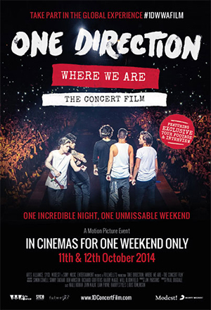 One Direction: Where We Are  One Direction Where We Are the concert film