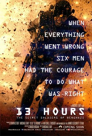 13 Hours: The Secret Soldiers of Benghazi 13 ชม. วีรบุรุษลับแห่งเบนกาซี
