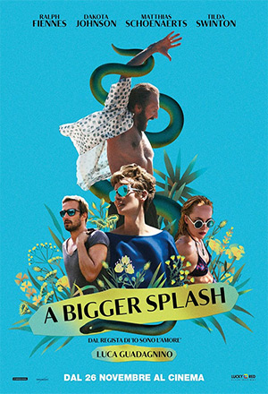 A Bigger Splash ซัมเมอร์ร้อนรัก อะ บิกเกอร์ สแปลช