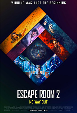 Escape Room 2: No Way Out กักห้อง เกมโหด 2: กลับสู่เกมสยอง Escape Room: Tournament of Champions