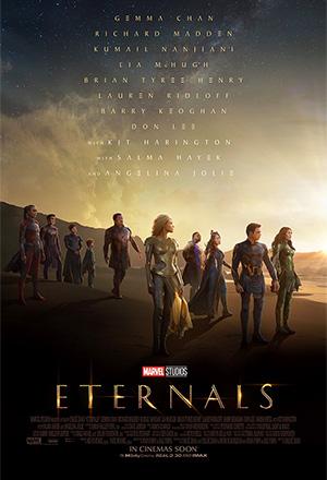 Eternals ฮีโร่พลังเทพเจ้า The Eternals