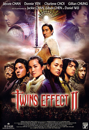 The Twins Effect 2 คู่ใหญ่พายุฟัด 2 The Huadu Chronicles: Blade of the Rose