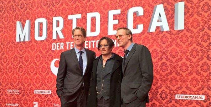 งานเปิดตัวหนัง งานเปิดตัวรอบปฐมทัศน์ World Premiere Mortdecai