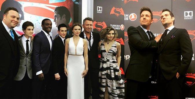 งานเปิดตัวหนัง งานพรีเมียร์ Batman v Superman: Dawn of Justice ที่ นิวยอร์ก