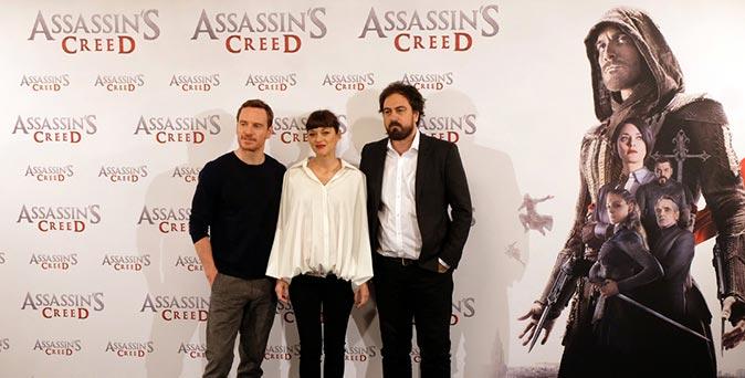 งานเปิดตัวหนัง Assassin's Creed เดินสายโปรโมท ที่ มาดริด