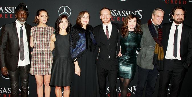 งานเปิดตัวหนัง Assassin's Creed เดินสายโปรโมท ที่ นิวยอร์ก