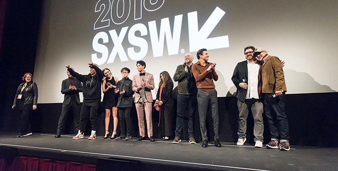 งานเปิดตัวหนัง ภาพบรรยากาศงาน Ready Player One Premiere - 2018 SXSW