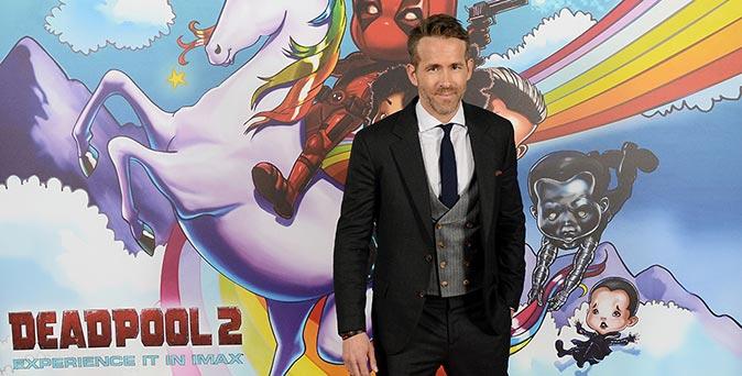 งานเปิดตัวหนัง ไรอัน เรย์โนลด์ พร้อมทีมนักแสดงนำจาก Deadpool 2 ร่วมงานพรีเมียร์เปิดตัวภาพยนตร์ ณ กรุงลอนดอน