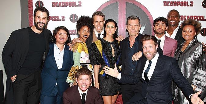 งานเปิดตัวหนัง คึกคักเวอร์! ทัพนักแสดงนำ Deadpool 2 ตบเท้าร่วมงานนิวยอร์กพรีเมียร์ เปิดตัวหนังฮีโร่สุดเกรียน