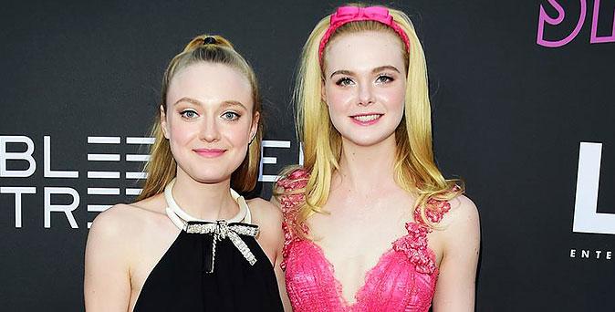 งานเปิดตัวหนัง สวยสะกด! 2 พี่น้อง แอล แฟนนิ่ง และดาโกต้า แฟนนิ่ง ควงคู่เปิดตัวหนัง Teen Spirit ที่ลอสแองเจลิส