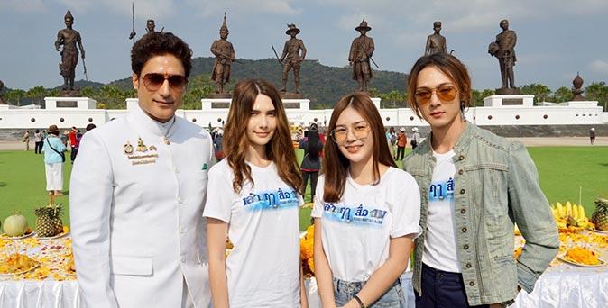 งานเปิดตัวหนัง นักแสดงบอลลีวู้ดชื่อดัง กากัน มาลิค ประเดิมเล่นหนังไทย นำทีมนักแสดงบวงสรวง เล่าฤาสื่อ IV