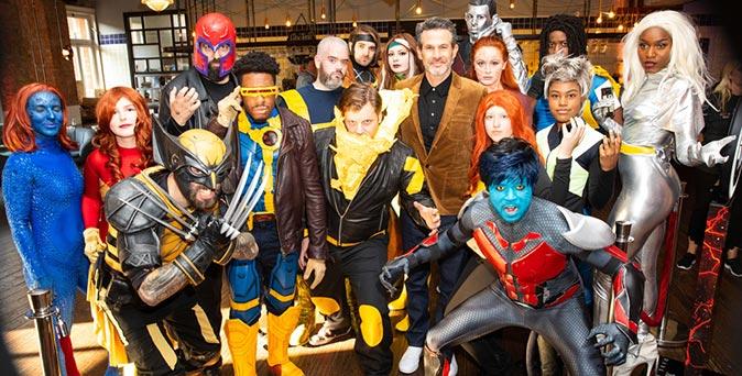 งานเปิดตัวหนัง คอสเพลย์มนุษย์กลายพันธุ์ ปะทะ ตัวจริง ในงาน X-Men: Dark Phoenix - UK Fan Event ณ กรุงลอนดอน