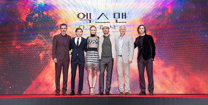 งานเปิดตัวหนัง แฟน X-เม็น แห่ต้อนรับเหล่ามนุษย์กลายพันธุ์ ในงานเปิดตัว X-Men: Dark Phoenix ณ กรุงโซล