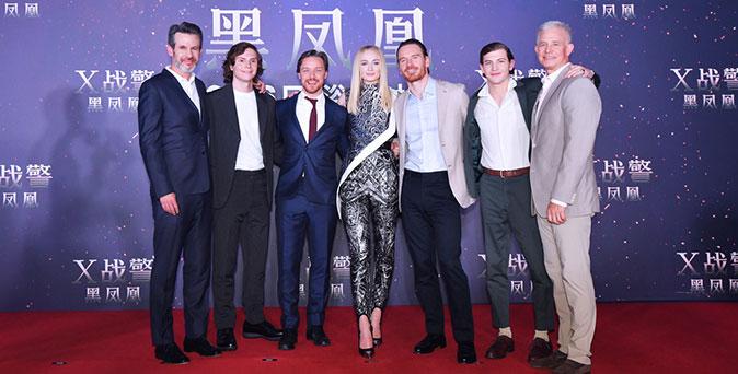 งานเปิดตัวหนัง ทีม X-เม็น เปิดตัวยิ่งใหญ่ที่กรุงปักกิ่ง ประเทศจีน ท่ามกลางเแฟน ๆ กว่า 2700 ชีวิต