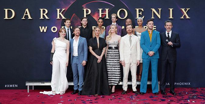 งานเปิดตัวหนัง เหล่ามนุษย์กลายพันธุ์จาก X-Men: Dark Phoenix รวมตัวครั้งใหญ่ เปิดตัวรอบเวิลด์พรีเมียร์ ที่ ลอสแอนเจลิส