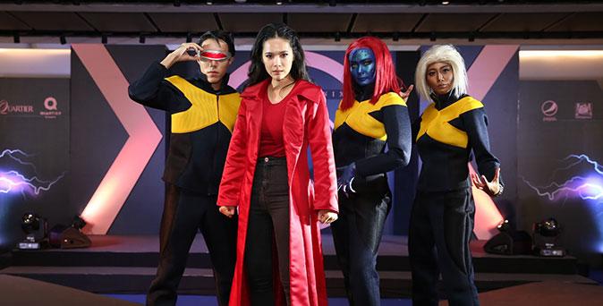 งานเปิดตัวหนัง โบวี่ อัฐมา สวมบทบาทป็น จีน เกรย์ ในงาน Thailand Gala Premiere X-Men: Dark Phoenix