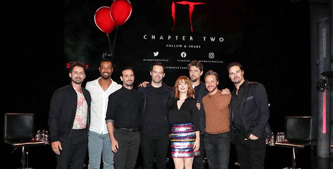 งานเปิดตัวหนัง ผู้กำกับ แอนดี้ มุสชิเอตติ นำทีมนักแสดง เดินทางโปรโมท It: Chapter Two ที่ Scare Diego 2019
