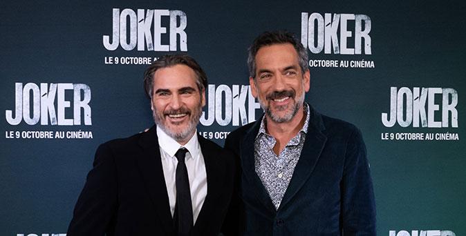 งานเปิดตัวหนัง ผู้กำกับ ทอดด์ ฟิลิปส์ แท็กทีม วาคีน ฟีนิกซ์ ร่วมงานเปิดตัวรอบปฐมทัศน์ Joker ที่กรุงปารีส